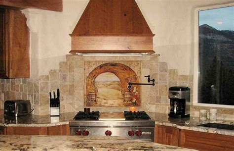 Backsplash In Kitchen by Stone Backsplash Design Feel The Home
