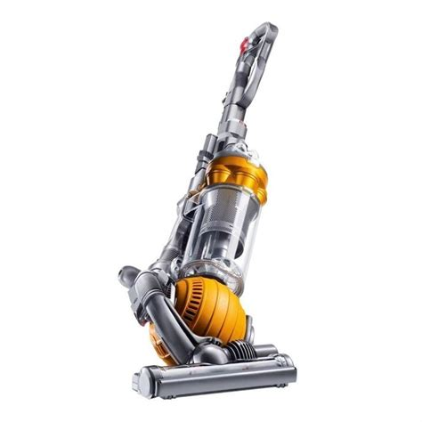 dyson vaccum shop dyson dc25 multi floor upright vacuum yellow