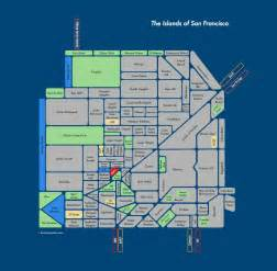 Map Of San Francisco Districts by Sf Startup Survival Guide How To Find An Apartment In San
