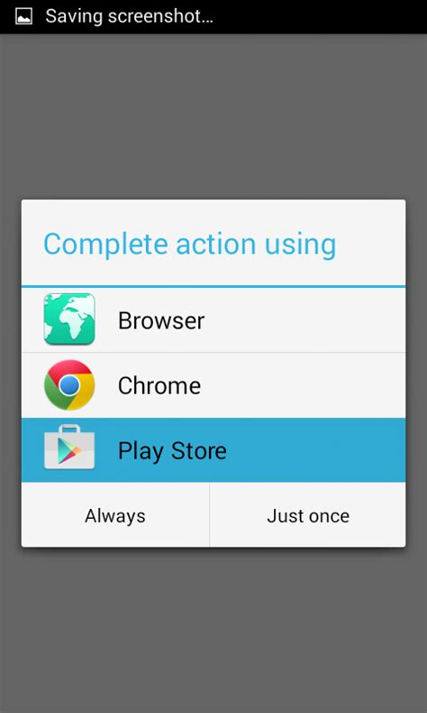 android reset open with app open specific app inside google play store via android app