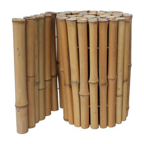 tuin borderranden bamboe borderrand 200 x 45 cm