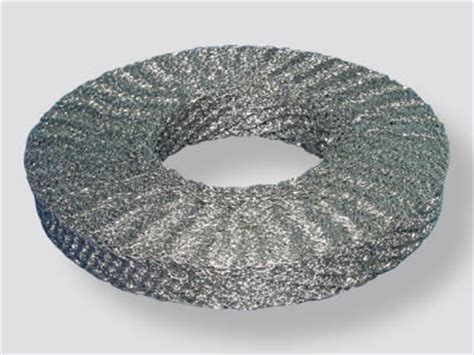 knitted wire mesh stainless steel 304 316 compressed knitted wire mesh