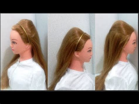 how to make easy puff hairstyles how to make a puff in hair without hairspray 5 hairstyles
