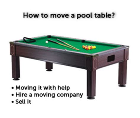 how to move a pool table moving guru guide
