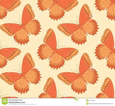 butterfly pattern stock orange butterfly pattern stock photo image 12771820