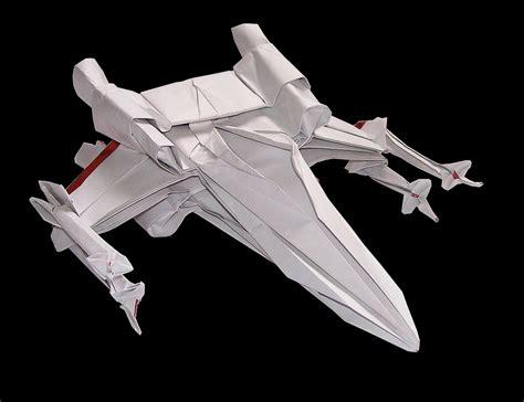 Wars X Wing Origami - l univers wars en origami