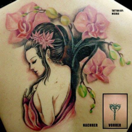 geisha tattoo cover up geisha als cover up tattoo ideas pinterest