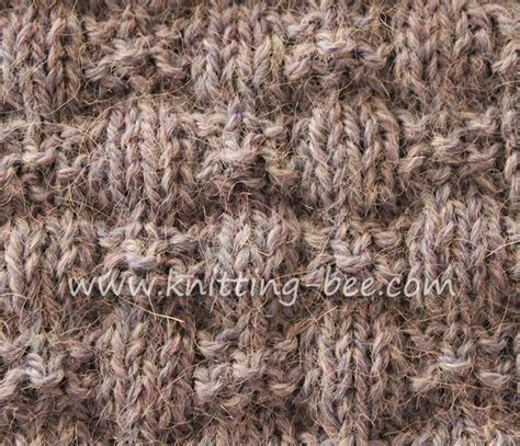 how to use a knitting bee knotted ribbons knitting stitch knitting bee