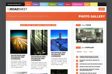 newspaper theme bootstrap broadsheet newspaper theme bootstrap themes on