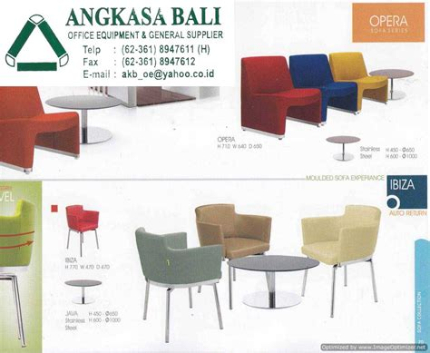 Jual Kursi Tamu Ligna angkasa bali supplies office furniture office equipment in