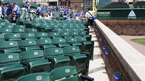 seat  wrigley field isnt changing   number