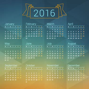 graphic design calendar 2016 2016 2017 calendars free vector download 1 644 free