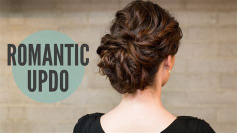 how to do updo hairstyles for long curly hair how to curly romantic updo youtube