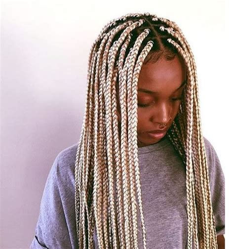 do braids be stiff when you first get them done hair after box braids pinterest the world s catalog of