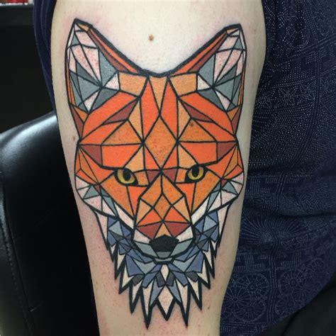 tattoo geometric fox 90 best tattoos images on pinterest tattoo ideas