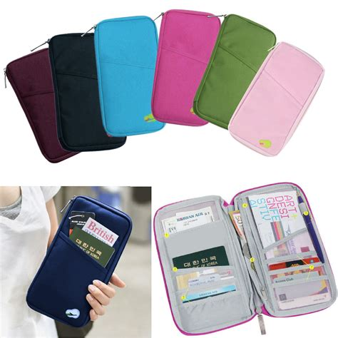 Modis Pasport Bag Tas Passport Travel Organizer Wallet Card Atm A1 new travel wallet organizer passport credit card holder