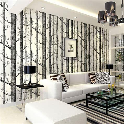 tree design wallpaper living room papel de parede design moderno vender por atacado papel