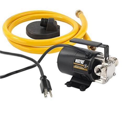 wayne pc portable transfer water pump  suction hose