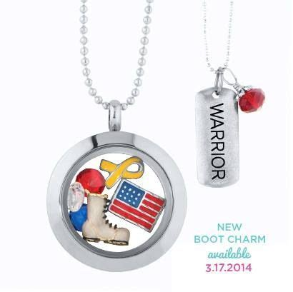 Origami Owl Army Charm - get this warrior locket or tag necklace to show and