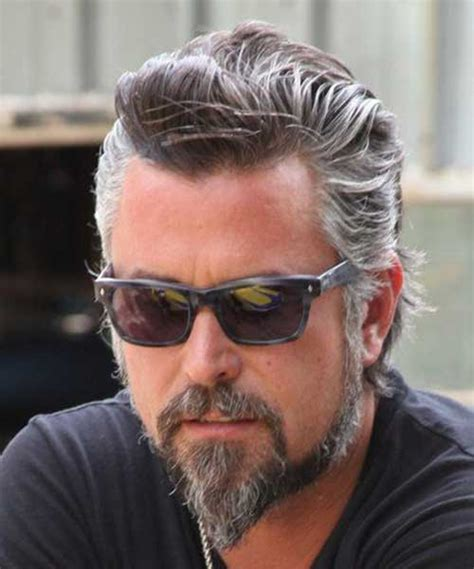 mens hair styles to hide grey area 10 best men with gray hair mens hairstyles 2018