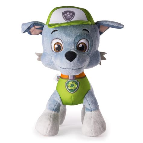 what of is rocky from paw patrol paw patrol basic 10 plush rocky products paw patrol