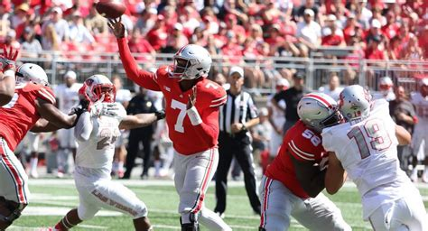 Ohio State Records Three Key Stats Ohio State Sets Passing Records Improves On Passing Defense Racks