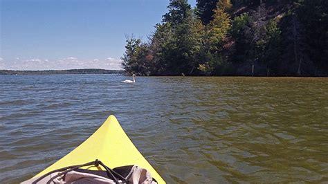 hamlin lake boat launch ludington state park canoe trail day trip
