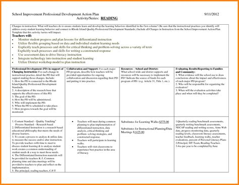14 professional development plan template how to make a cv