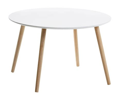 Jysk Side Table Coffee Table Fannerup D75 White Jysk