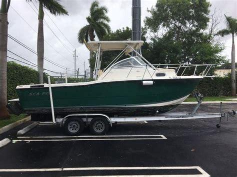 sea pro walkaround boats for sale sea pro 235 walkaround boats for sale