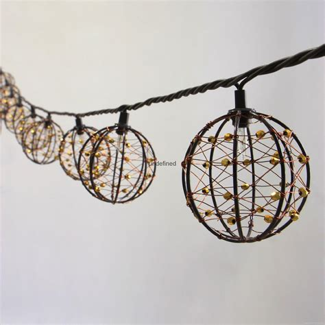 decorative on a string string lights decorative beaded copper wire