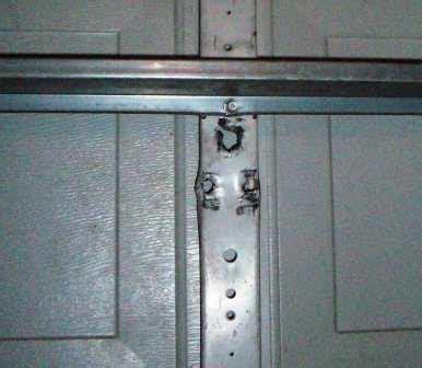 Garage Door Opener J Arm Angle Garage Door Bracket Repair 171 Do It Yourself Knowledge
