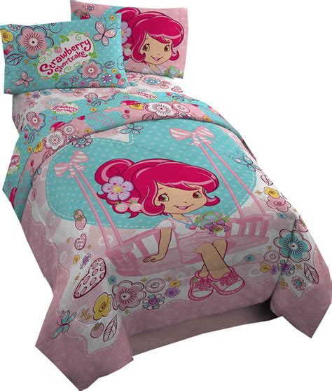 strawberry shortcake comforter strawberry shortcake twin comforter simply sweet bedding