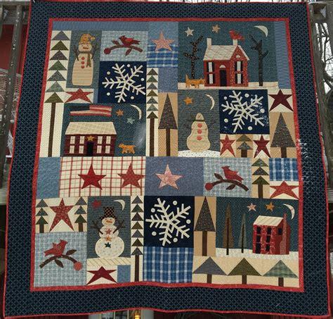 Best Quilt For Winter by Winter Solstice Quilt Kit Jan Patek S Store