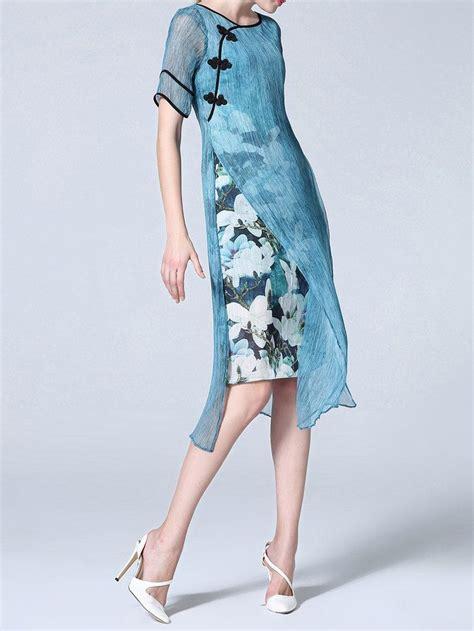 Dress Wanita Sleeve Chiffon Vintage Dress Birumr483 451 best images about sewing linen on japanese sewing tunics and harem