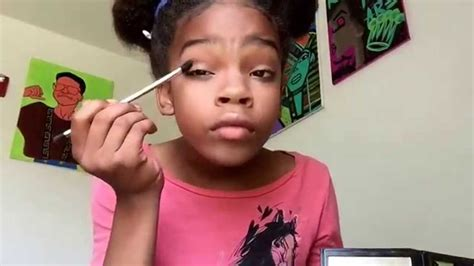 pictures of 9 year old girls makeup summer makeup tutorial by 11 year old aliyah youtube