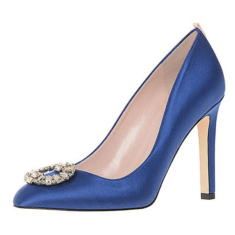 Blue Wedding Shoes by Blue Wedding Shoes Bouquet Wedding Flower