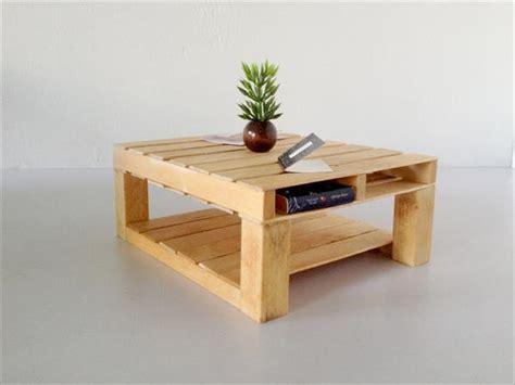 diy custom built pallet coffee table pallet furniture plans