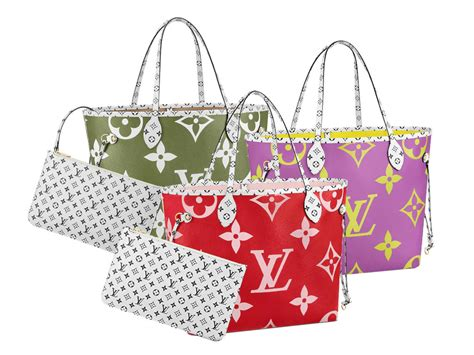 louis vuitton monogram geant neverful mm bagaholicboy