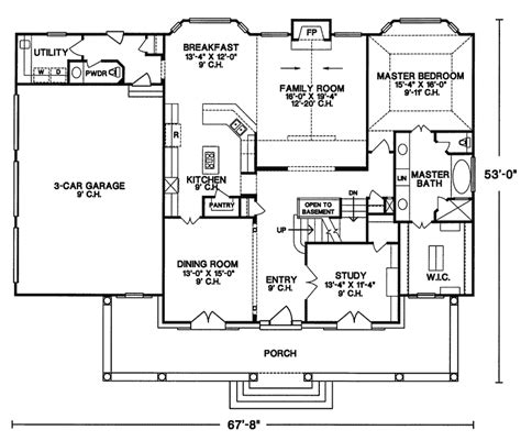 Floor Plans For Country Homes Dublin Hill Rustic Country Home Plan 026d 0164 House Plans And More