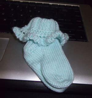flap ruffled socks ravelry shirley ruffled baby socks pattern by christine