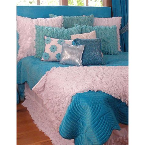 turquoise and white bedding chiffon bedding in turquoise and white and nursery kid