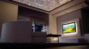pod蝗wietlenie telewizora led w salonie