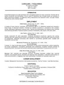 Company Resume Templates by 12 Business Resume Exles Recentresumes