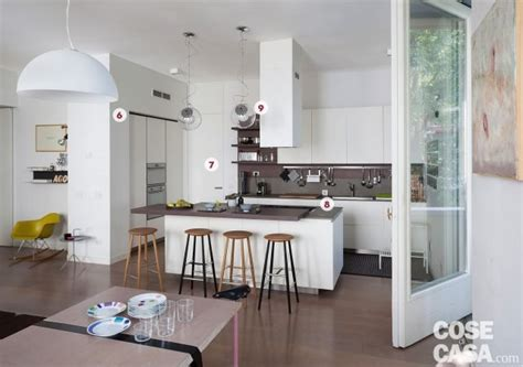 la cucina di d una casa con il soggiorno open space diventa pi 249
