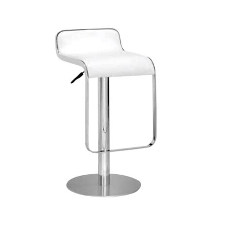 Lem Bar Stool White by Smartbooths Lem Bar Stool White 1 Unit 1pc For 1 Day