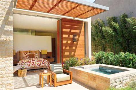 Backyard Patio Ideas With Hot Tub Landscaping Backyard Spa Ideas