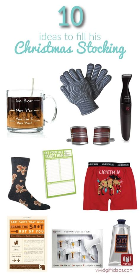 stocking stuffer ideas for him men stocking stuffers 10 cool ideas vivid s