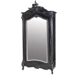 moulin noir mirrored armoire armoires