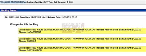 Seattle Arrest Records Katt Williams Seattle Arrest Record